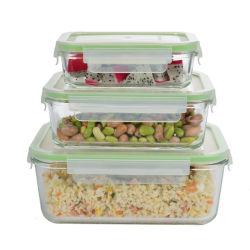 Aliments contenant de verre avec compartiment complet