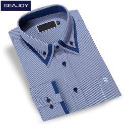 Personalizzare la camicia di vestito lunga dal manicotto della banda per gli uomini