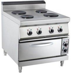체더링 장비 스테인리스 자유로운 서 있는 전기 오븐 전기 최신 4 - 오븐을%s 가진 격판덮개 요리 기구
