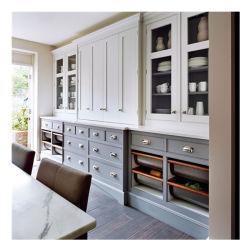 Agitador comercial personalizada de moderno diseño en madera maciza gabinetes de cocina China barata estilo moderno clásico melamina personalizado gabinetes de cocina Muebles de diseños de los conjuntos de la mano