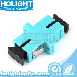 Оптоволоконный адаптер Sc Om3 Sx с фланцем для односторонней печати