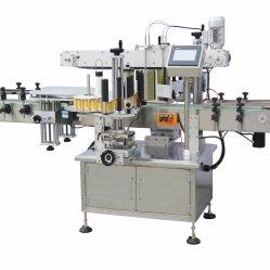Automatische Ronde Fles en de Vlakke Machine van de Etikettering van de Sticker van de Fles voor Kruik van de Fles van het Bier de Zij Vierkante