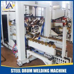 El tambor de acero 210L resistencia costura a máquina de soldadura
