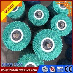 Zirconia Flexible de 100mm Tapa de abrasivos Disco, disco abrasivo, el MOP Disco, Muela, superficie curva, productos metálicos, la flexibilidad