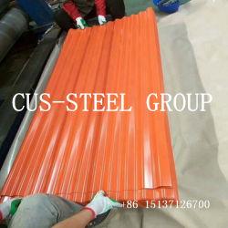 Crête de la fabrication de Cap/profil de couleur tuiles de toiture en métal/feuille de carton ondulé