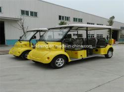 Überlegener elektrischer Doppelventilkegel/besichtigenbus für szenischen Punkt /City/Hotel/Airport