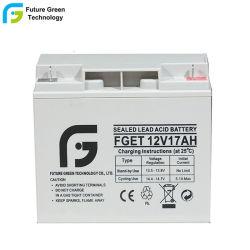 12 V17ah Solar Power Bleisäure USV Kleine AGM-Batterie