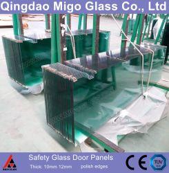 6mm 8mmの10mm明確な緩和されたガラスのシャワーのドア/シャワー・カーテンのパネルまたはシャワー機構ガラス