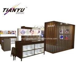 Personalizza il design dello stand portatile in legno 20 by 20 E produzione