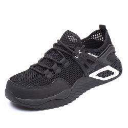 El verano de la construcción de la luz de los bosques de hombres botas zapatos de seguridad para los hombres con estilo