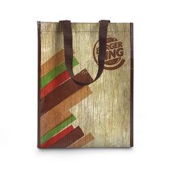 Le vendite dirette delle borse multicolori RPET Lixin del panno rivestito di commercio estero, Non-Woven d'acquisto dei regali insacca il sacchetto di acquisto del supermercato