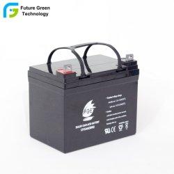 Регулируемое SLA Mf герметичный свинцово-кислотный аккумулятор для резервного копирования системы 12V 33AH