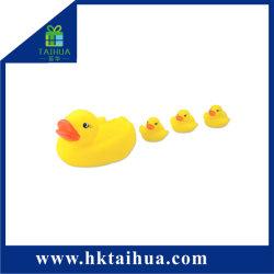 De hete Eend van het Stuk speelgoed van het Bad van de Verkoop Leuke Promotie Mini Gele Rubber voor Jonge geitjes