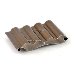 Il balcone di alta qualità anodizza la stecca di alluminio Bronze dell'otturatore del rullo