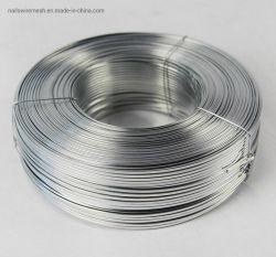 Alto límite elástico de alambre de acero inoxidable galvanizado/cable caja de cartón plano /libro el alambre de cosido