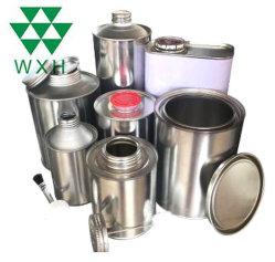 2 L de óleo lubrificante de metal de estanho Recipiente de embalagem