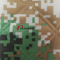Impresso Oxford Camouflage Fabric tecido acolchoado para tampa do carro