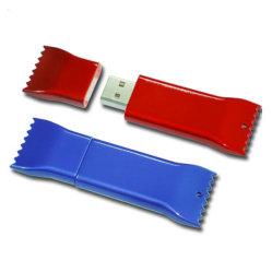 Lecteur Flash USB en plastique en dents de scie, Personnalisé 8 GO USB en zigzag