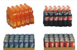 ボトルおよび缶用の下部トレイ付き自動シュリンクラッパー