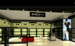 Mode Lady High Heeled Shoes and Boots Display Showcase, Woman Shoe Shop Design