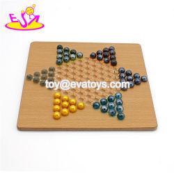 El mejor venta damas clásico juego de ajedrez de mármol de madera para niños W11A098