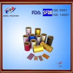 De farmaceutische Folie van de Blaar Ptp voor de Verpakking van Tabletten en van Capsules