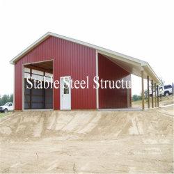 Estrutura de aço galvanizado grande galpão de oficina com desconto