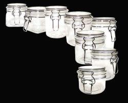 Pet Pet Glasslike Kilner Kilner Jar Jar Jar Kilner Pet à paroi épaisse