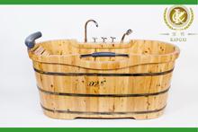 적시는 온수 욕조, 목제 수영풀, 나무로 되는 배럴 목욕 통 (KX-32)