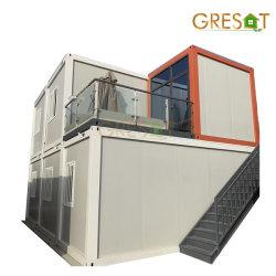 2019 20FT Huis van de Container van het Pak van de Luxe het Moderne Geprefabriceerde Modulaire Prefab Vlakke