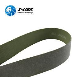 계단/레일/판유리 건조를 위한 새로운 Zlion Resin Diamond Polishing Belt 연삭