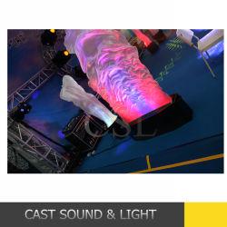 Étape effet feu flamme de lumière LED DMX de la machine