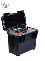 Obenliegende Zeile kleines aktuelles erdenStromnetz-Testgerät für Kabel-Defekt-Prüfung