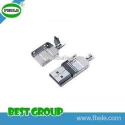 HDMI-A/tipo/Plig/soldadura/Ass'y el cable de conector mini USB Fbhdmi1-101