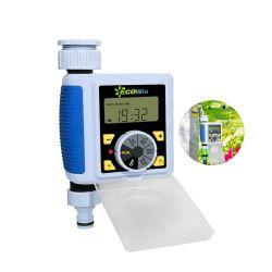 1 Sortie grand écran LCD du contrôleur de l'irrigation de jardin de l'eau électrique automatique minuteur numérique