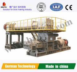 L'argile solide automatique machine à fabriquer des blocs de briques et de creux pour la production de briques