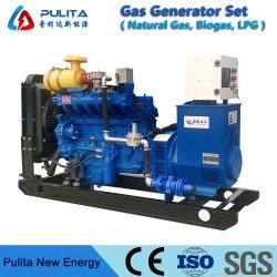 La temporada de la fábrica caliente ISO aprobado Ce 125kVA generador de gas natural