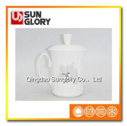 L'os de la Chine Mug avec couvercle de GB010