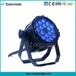 Ce/RoHS/UL/CQC 옥외 Ce18*10W RGBW DMX DJ는 LED 동위 빛을 상연한다