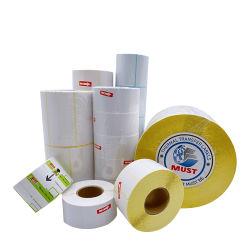 Joint de la chaleur Pre-Printed thermique directe des étiquettes de code à barres du rouleau de papier d'étiquette thermique