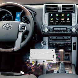 Interface multimédia automobile Zone de navigation GPS pour Toyata/Honda/Nissan/Audi