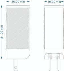 新しい65W安全な力のiPhone 12のiPadのタブレットのラップトップのための速い充電器のタイプC USB Pdの壁のアダプターのスマートな充電器のアクセサリの互換性がある