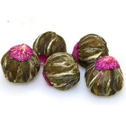 Chinesischer organischer Tee-blühende blühende schöne Kräuterblumen-blühende Tee-Kugeln