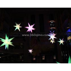 Personalizar la entrega de globos de luz LED de inflables inflables luminosos de las decoraciones de Navidad Yard /Street/bodas/Etapa Il004