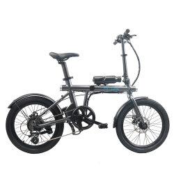 350 W 20 pouces 5FE 7 Speed 7ah Batterie au lithium avec des lumières de vélo électrique pliant