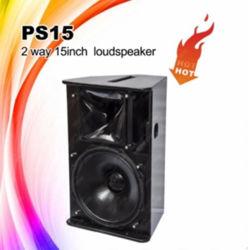 PS15 Outdoor 15pouces de haut-parleur audio professionnel DJ équipement
