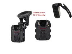 De lichaam Versleten GPS van de Camera 64GB Batterij 1800mAh van de Wacht 1080P van Camcorder HD van de Veiligheid van de Politie Infrarode Navulbare