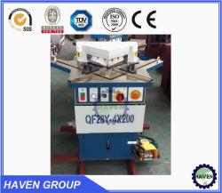 Crantage hydraulique Machine QF28Y-4X200 Machine de découpe de l'angle