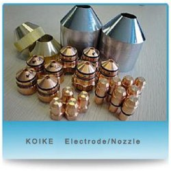 Koike Plasma-Bestandteile (Super400/400 Plus-/Fackelspitze, Elektrode, Düse)