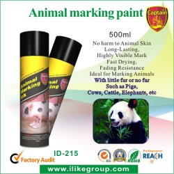 Le capitaine ID-215 Animal longue durée de la peinture de marqueur